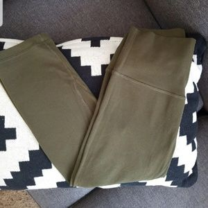 Lululemon Align Leggings Military Green